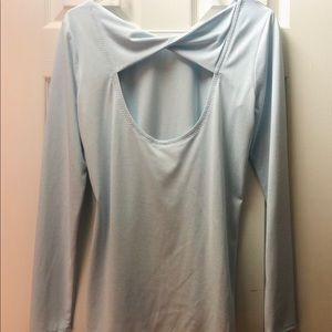 Athleta Open Back Top Size S